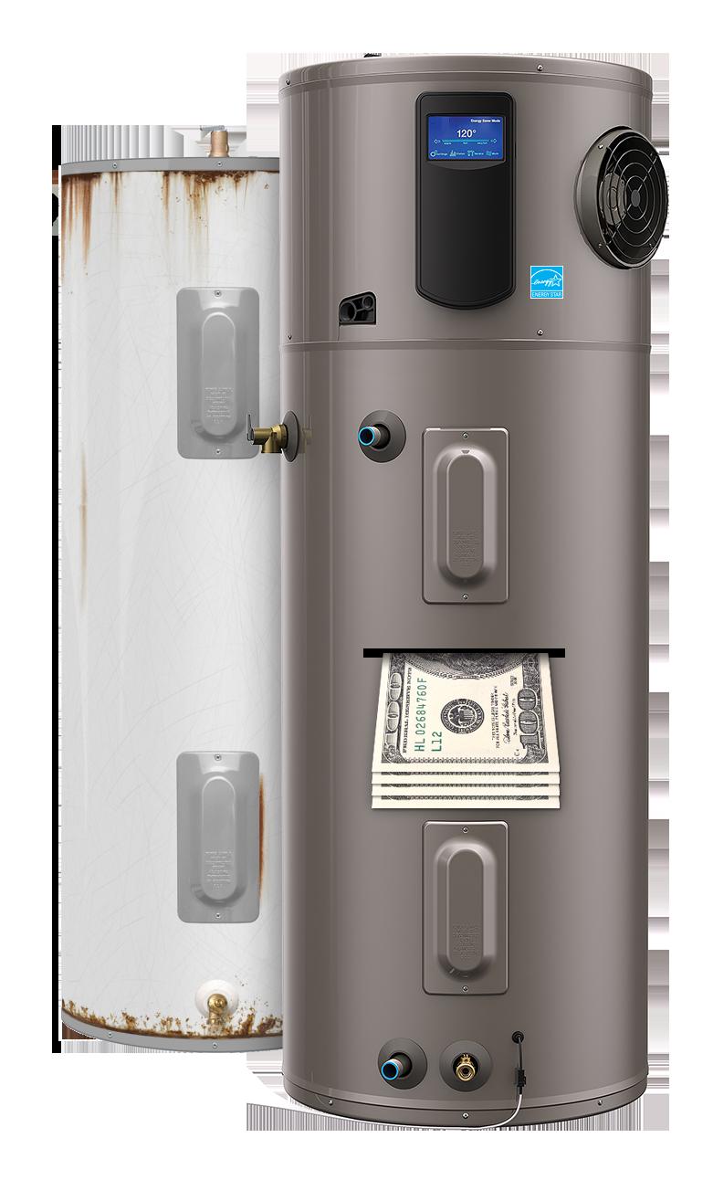 heat pump water heater promo image