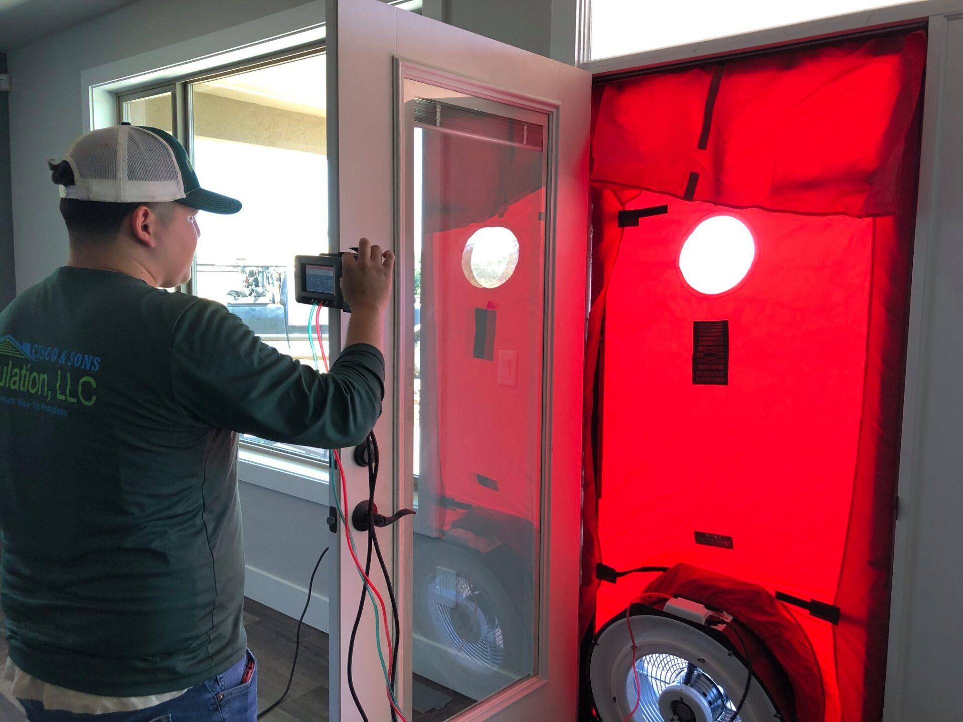 cisco blower door test