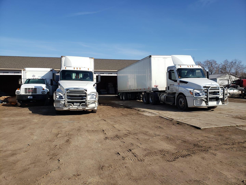 cisco warehouse and trucks